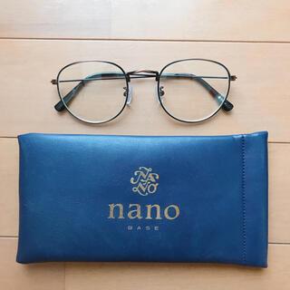 nano・universe - 丸メガネ 伊達メガネ クリアレンズ ナノユニバース nano universe