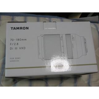 タムロン(TAMRON)の【美品】ソニーEマウント用 タムロン 70-180 F2.8 Di Ⅲ VXD (レンズ(ズーム))