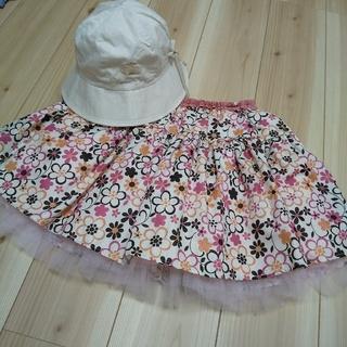 トッカ(TOCCA)のTOCCA 帽子 チュールスカート 130(帽子)