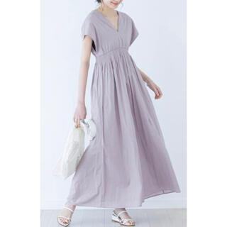 Noble - マリハ 夏の光のドレス パープル