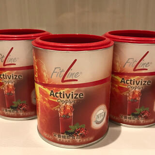 賞味期限7月★Fitline アクティヴァイズ 3缶 フィットライン (訳あり)