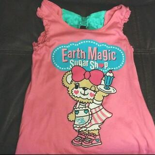 EARTHMAGIC - アースマジック ワンピース シャツ ☆ 130 140