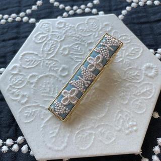 ミナペルホネン(mina perhonen)のミナペルホネン ⭐ beads garden ⭐ハンドメイド  ヘアピン e(ヘアアクセサリー)