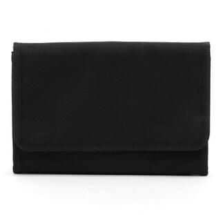 MUJI (無印良品) - 無印良品  ポリエステル・母子手帳ケース・大黒・24×17cm