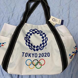 新品、未使用!東京オリンピック2020 バルーントート白