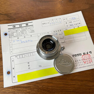 LEICA - 美品です。summaron 35mm 3.5   ズマロン