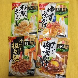 キッコーマン(キッコーマン)の具麺 ぐーめん 4袋(各2人前)(レトルト食品)