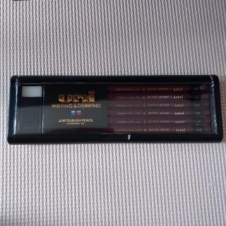 三菱鉛筆 uni  HB 12本 消しゴムセット(鉛筆)