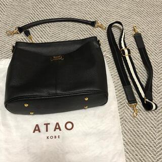 ATAO - ATAO アタオ ウィークエンド ブラック ショルダーバッグ