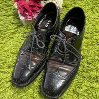 プラダ(PRADA)のプラダPRADA レディレザーシューズ 2375(ローファー/革靴)
