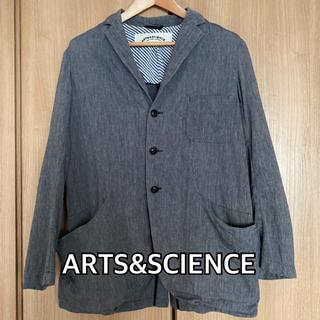 ARTS&SCIENCE アーツアンドサイエンス テーラードジャケット
