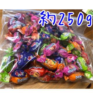 【開封済】フルーツソフトキャンディアソート ダムラ 250g(菓子/デザート)