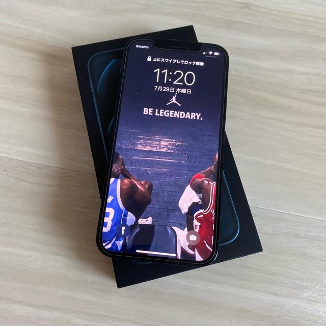 iPhone(アイフォーン)のiPhone 12 pro 128GB パシフィックブルー スマホ/家電/カメラのスマートフォン/携帯電話(スマートフォン本体)の商品写真