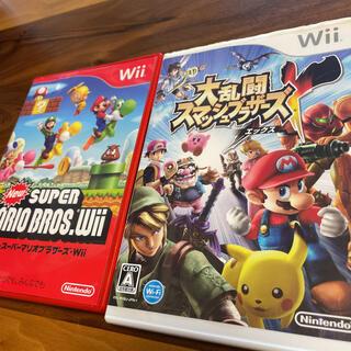 Wii - 大乱闘スマッシュブラザーズ X と New スーパーマリオブラザーズ