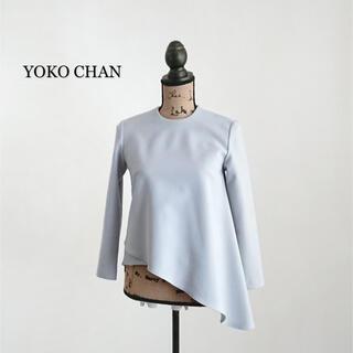 BARNEYS NEW YORK - YOKO CHAN ヨーコチャン イレギュラーヘム ブラウス