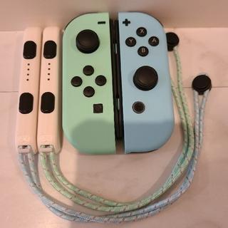 ニンテンドースイッチ(Nintendo Switch)の任天堂スイッチ あつまれどうぶつの森 joy-conセット(その他)