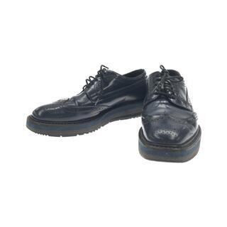 プラダ(PRADA)のプラダ PRADA ウィングチップシューズ    レディース(ローファー/革靴)