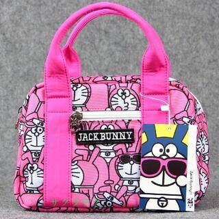 jack bunny ジャックバニーゴルフ用 カートバック ドラえもん ピンクk(バッグ)