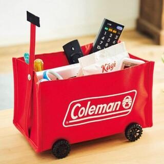 Coleman - MonoMax 付録  コールマン  ミニチュア 収納ワゴン