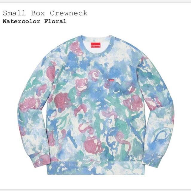 Supreme(シュプリーム)のSupreme Small Box Crewneck Floral XLサイズ メンズのトップス(スウェット)の商品写真