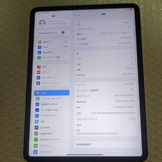 美品 simフリー 第3世代 ipad pro 11インチ 256gb