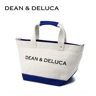 ディーンアンドデルーカ(DEAN & DELUCA)の❣️数量限定❣️DEAN&DELUCA ショルダーバッグ  ブルー Sサイズ(ショルダーバッグ)