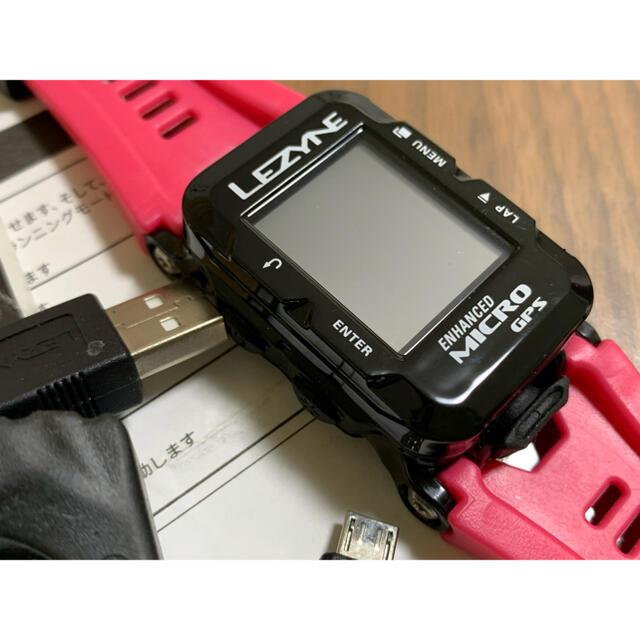 GARMIN(ガーミン)のLEZYNE MICRO C GPSウォッチ サイクルコンピューター スポーツ/アウトドアの自転車(パーツ)の商品写真