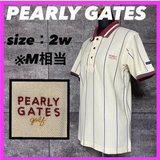 PEARLY GATES - 【人気】PEARLY GATES パーリーゲイツ ポロシャツ ゴルフウェア