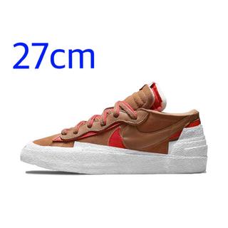 NIKE - Sacai × Nike Blazer Low  27cm