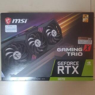 NO LHR 新品未開封 MSI Geforce RTX 3070 TRIO X