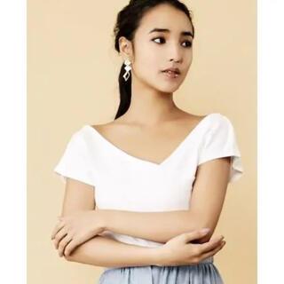 リゼクシー(RESEXXY)のresexxyアシメTシャツ(Tシャツ(半袖/袖なし))