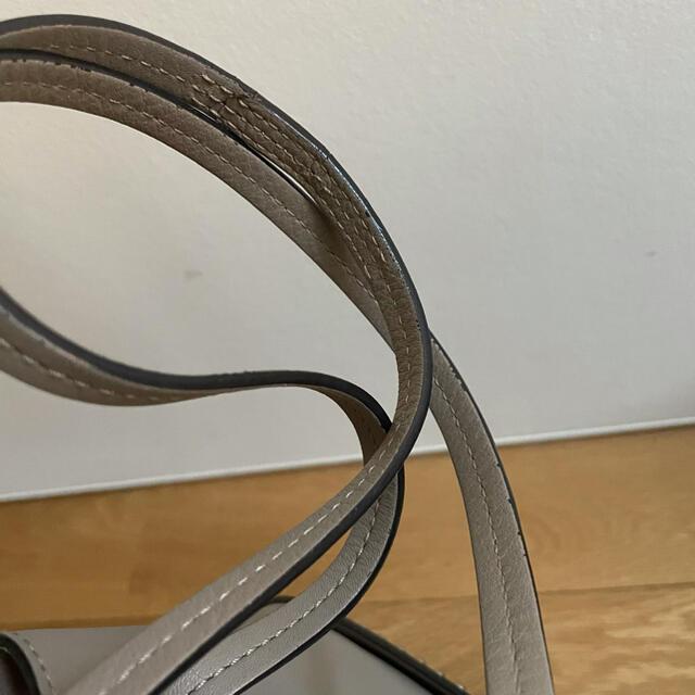 J&M DAVIDSON(ジェイアンドエムデヴィッドソン)のj&m davidson ミニデイジー グレージュ  レディースのバッグ(ショルダーバッグ)の商品写真