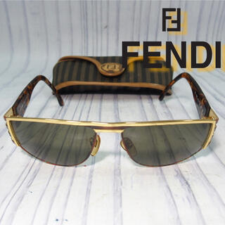 フェンディ(FENDI)のFENDI フェンディ サングラス 眼鏡 ケース付き(サングラス/メガネ)