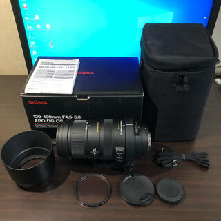 SIGMA - SIGMA APO 120-400mm F4.5-5.6 DG OS HSM