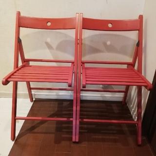 イケア(IKEA)のイケア TERJE テリエ 折り畳み椅子(折り畳みイス)