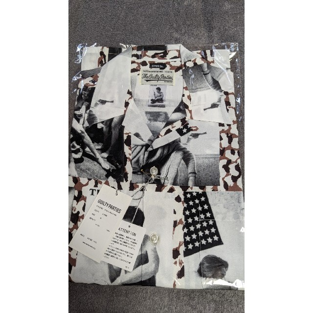 WACKO MARIA(ワコマリア)の21ss WACKO MARIA LARRY CLARK「TULSA」 メンズのトップス(シャツ)の商品写真