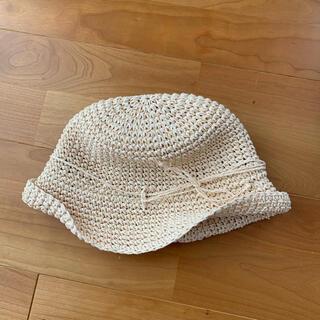 ムジルシリョウヒン(MUJI (無印良品))のむぎわら帽子 52cm(帽子)