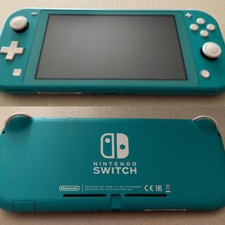 Nintendo Switch - 任天堂Switch Lite ターコイズ 中古美品