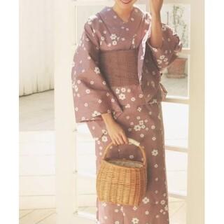 メゾンドフルール(Maison de FLEUR)の【新品未使用】メゾンドフルール 大正浪漫浴衣セット(着物)