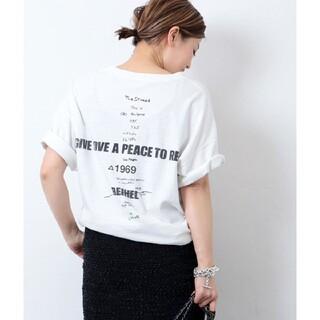 DEUXIEME CLASSE - Deuxieme Classe  LOVE A PEACE プリント Tシャツ