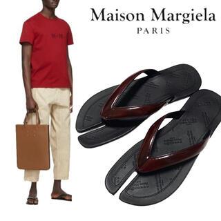 マルタンマルジェラ(Maison Martin Margiela)の新品 21ss 【メゾンマルジェラ】TABI サンダル フラットシューズ(サンダル)
