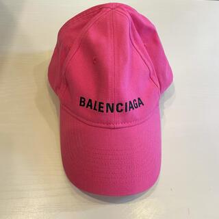 バレンシアガ(Balenciaga)のBALENCIAGA キャップ CAP 帽子 ピンク バレンシアガ 野球帽(キャップ)