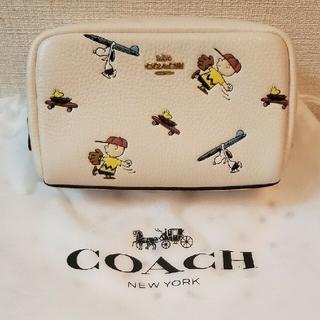 COACH - COACH×スヌーピー  ポーチ 日本限定