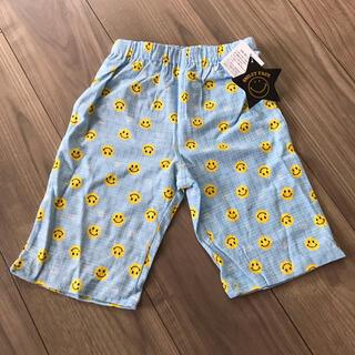 新品 キッズ ニコちゃん柄ステテコ 120 パジャマ ハーフパンツ ズボン(パンツ/スパッツ)