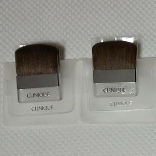 クリニーク(CLINIQUE)の【新品】クリニーク CLINIQUE ブラシ フェイスブラシ(ブラシ・チップ)