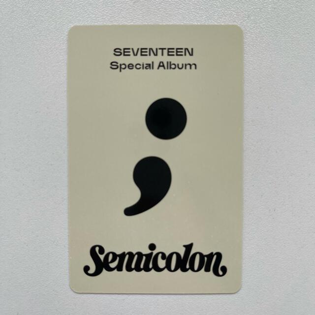 SEVENTEEN(セブンティーン)のSEVENTEEN ドギョム トレカ チケットの音楽(K-POP/アジア)の商品写真