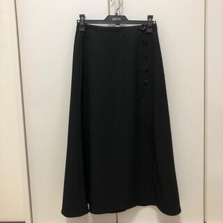 エモダ(EMODA)のEMODA 黒ロングスカート(ロングスカート)