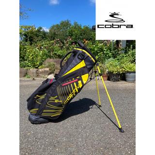 COBRA - コブラ ウルトラ ライト スタンドバッグ ブラック/イエロー