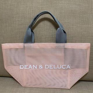 DEAN & DELUCA - ディーンアンドデルーカ メッシュトートバッグ スモークピンク Sサイズ