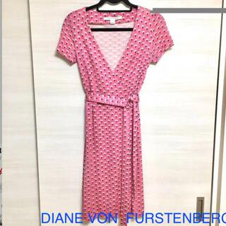 ダイアンフォンファステンバーグ(DIANE von FURSTENBERG)のダイアンフォンファステンバーグ irina dress(ひざ丈ワンピース)